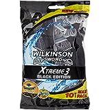 Wilkinson Xtreme 3 Black Edition - Rasoio, confezione da 10pezzi