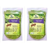 Natural Healthlife Care 100% Natural Indigo Leaves (Indigofera Tinctoria) Powder Combo Pack Of 2 (Per Unit 227Gm)