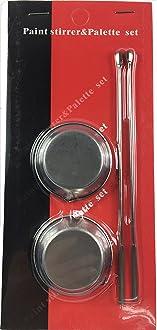Abest 19.2 cm rotondo Airbrush Turn Table Heavy Duty girevole con supporto rotante con cuscinetti a sfera in acciaio per creazioni artistiche TV a schermo piatto aerografia laptop pittura