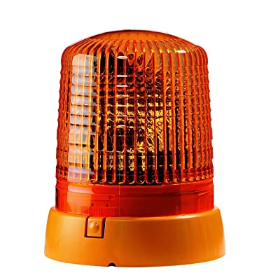 HELLA 008061111 KL 7000 Series 24V Amber Fixed Rotating Beacon: Automotive