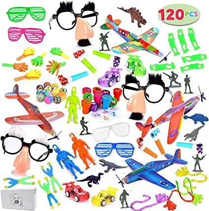 Amazon.com: Más de 100 piezas de juguetes surtidos ...