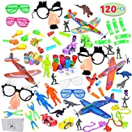 JOYIN 120Pc Party Favor for Kids Toy Assortment, Birthday Party, School Classroom Rewards, Carnival Prizes, Pinata Fillers and Goodie Bags Fillers