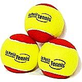 Le Petit Tennis - Lote de 3 pelotas de tenis infantiles