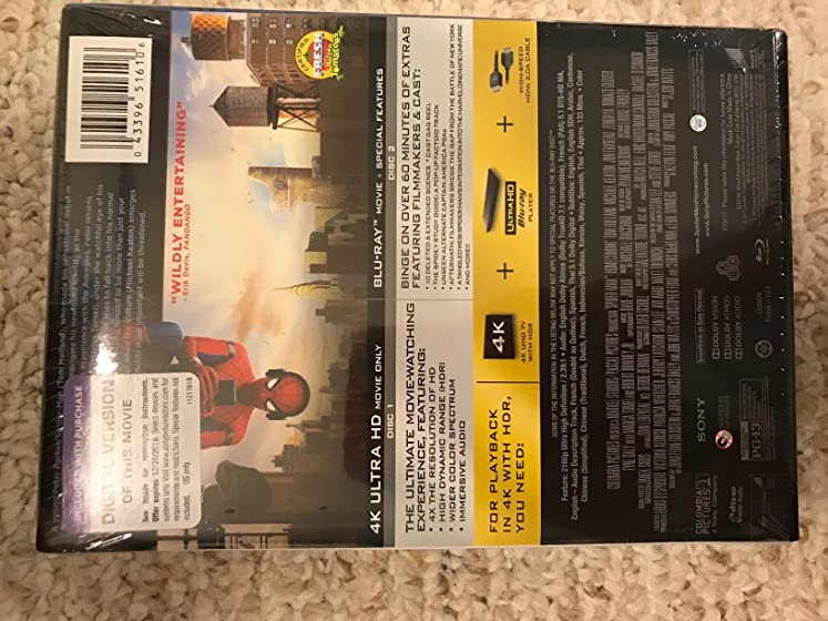 Spider-Man: Homecoming Five Stars