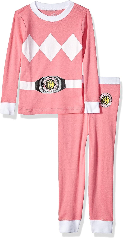 INTIMO Girls Pink Ranger Critter Pajama