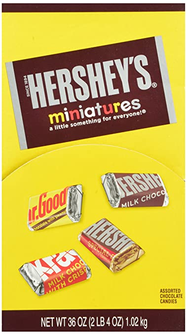 Hershey's Miniatures Assortment, 120 Count, Changemaker