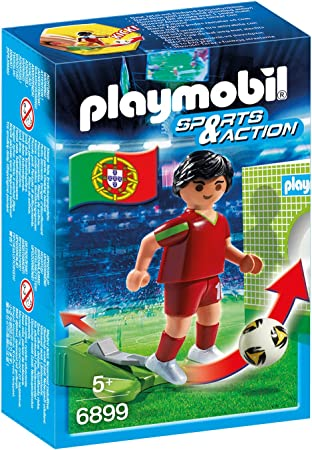 PLAYMOBIL - Futbolista Portugal (68990): Amazon.es: Juguetes y juegos