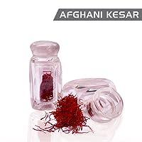 Nutriherbs Afghani Kesar - 1gm (Premium A+ Grade Saffron Threads, Highest Quality Saffron)