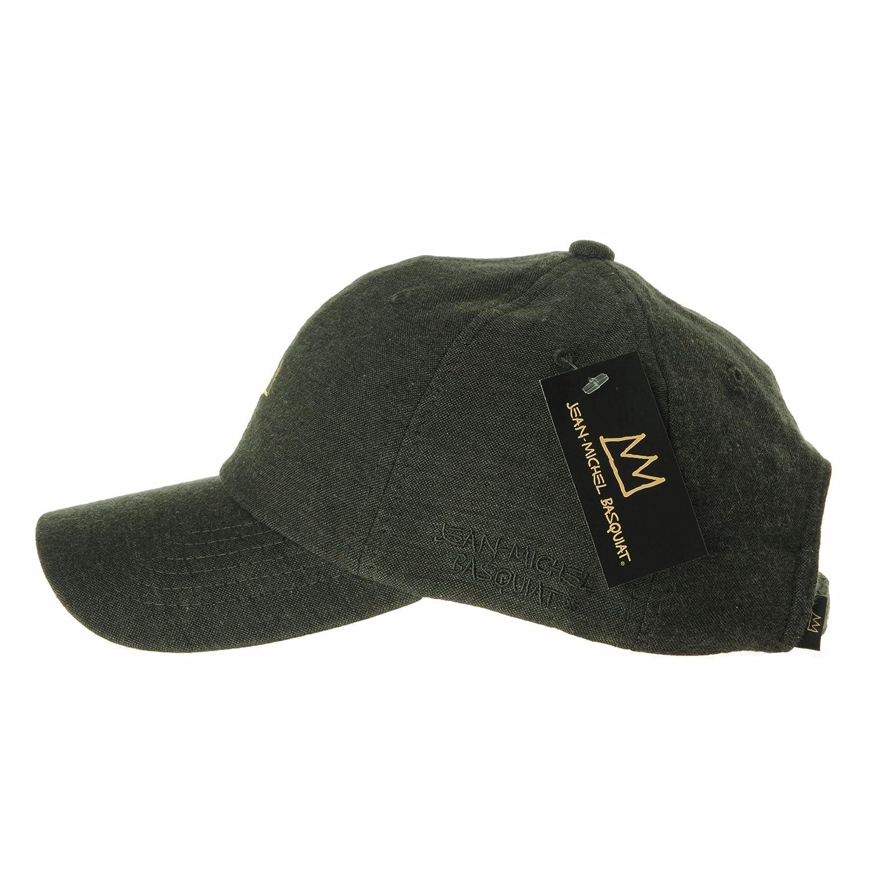 835c953c63f WITHMOONS Baseball Cap Jean-Michel Basquiat Crown CR1501 (Green) at Amazon  Men s Clothing store
