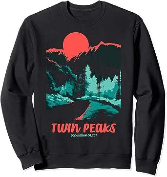 Twin Peaks Classic Tonal Color Pop Poster Sweatshirt
