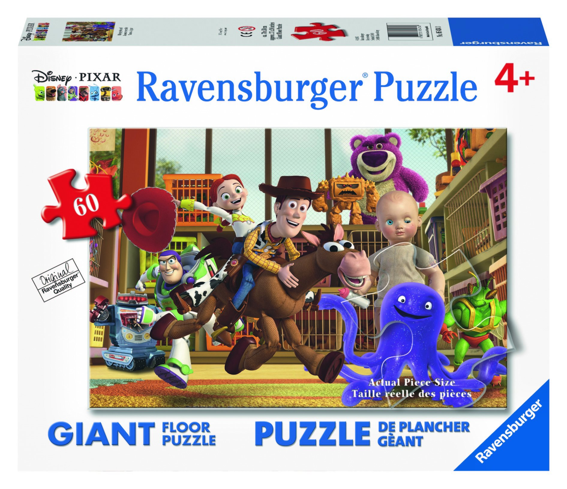 Ravensburger Disney Toy Story Playing Around Floor Puzzle (60 Piece)