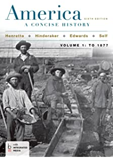 com america a concise history volume one to  america a concise history volume 1