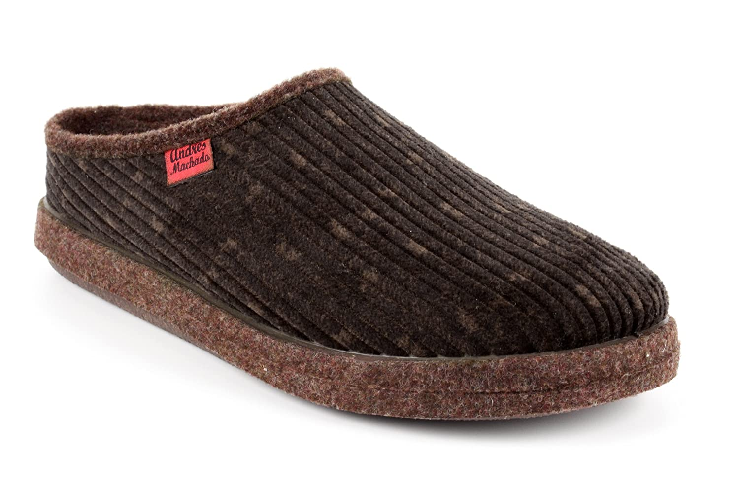 Andres Machado.AM001.AUTHÉNTIQUES chaussons MADE IN SPAIN Grandes Unisex.Petites et Pointures. Grandes Marron Pointures. 26/50 Velours C?telé Marron c52f3b5 - reprogrammed.space