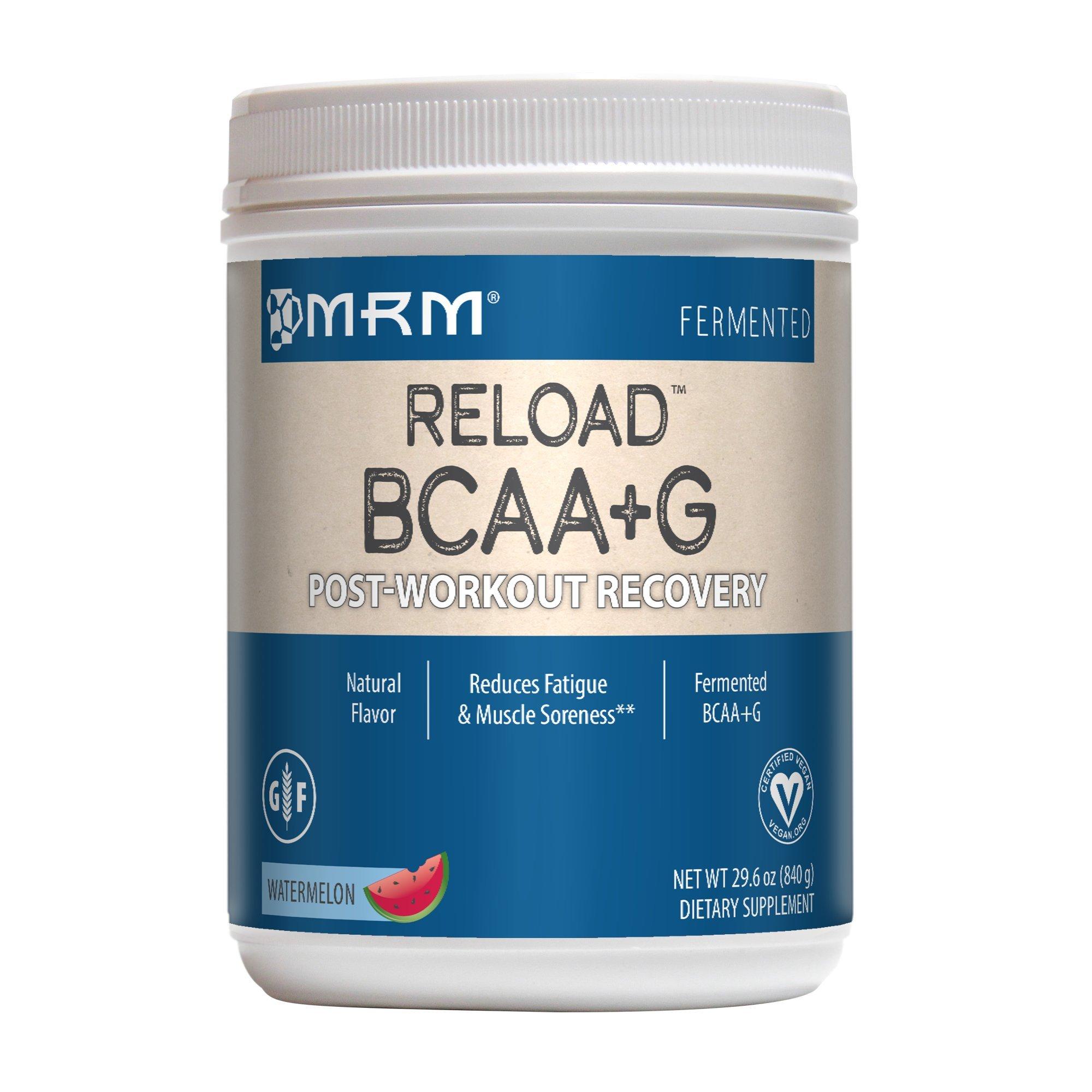 MRM BCAA plus G Reload Watermelon, 840-gram