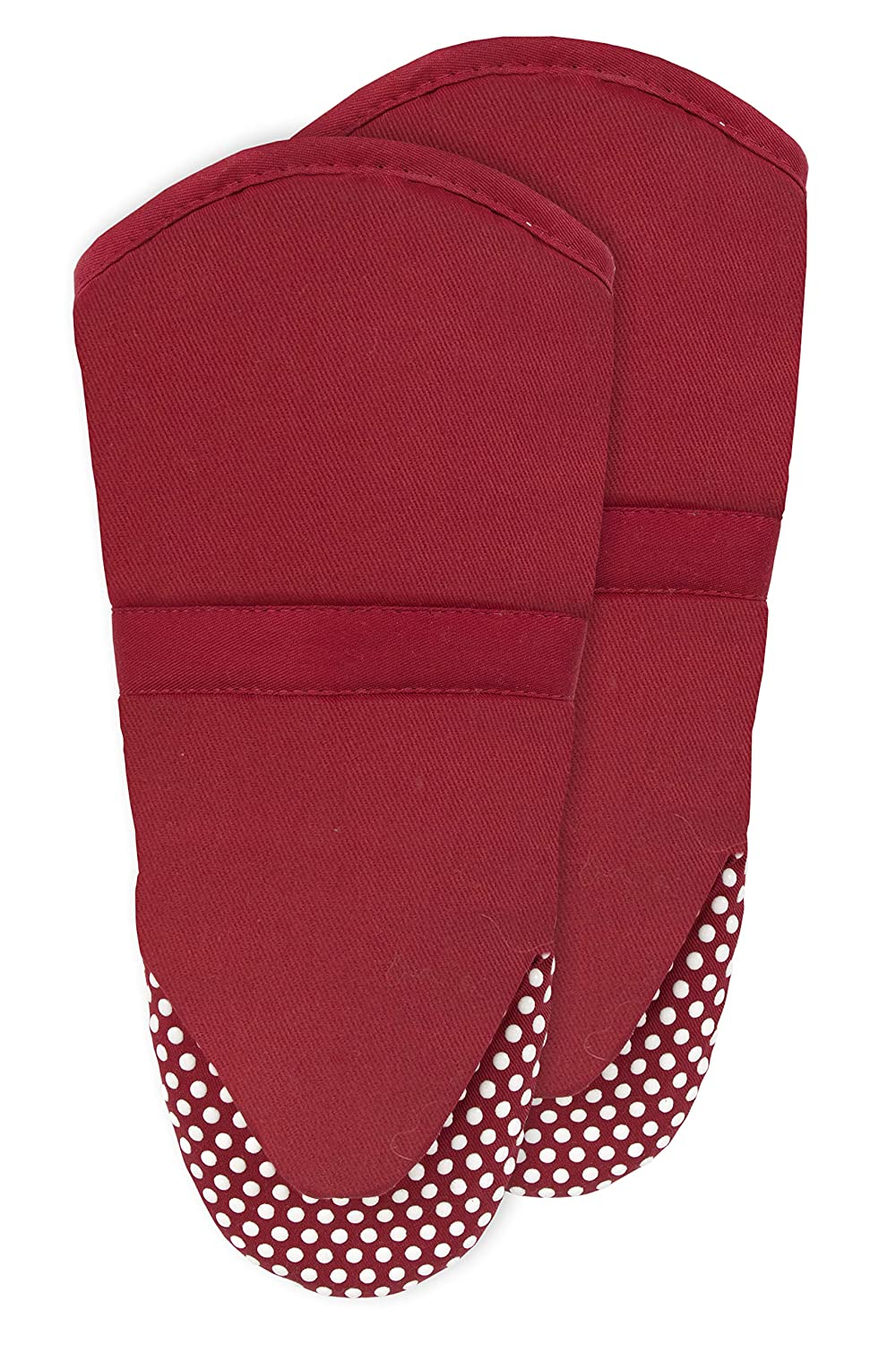 RITZ Royale 051283 Silicone Oven Mitt, 2-Pack, Paprika