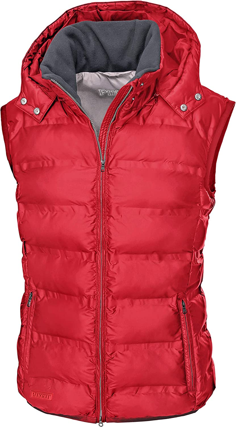 PIKEUR Damen Steppweste Hedy Classic Collection Herbst-Winter 2019//2020 40 Bright red