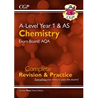 New A-Level Chemistry: AQA Year 1 & AS Complete Revision & Practice with Online Edition