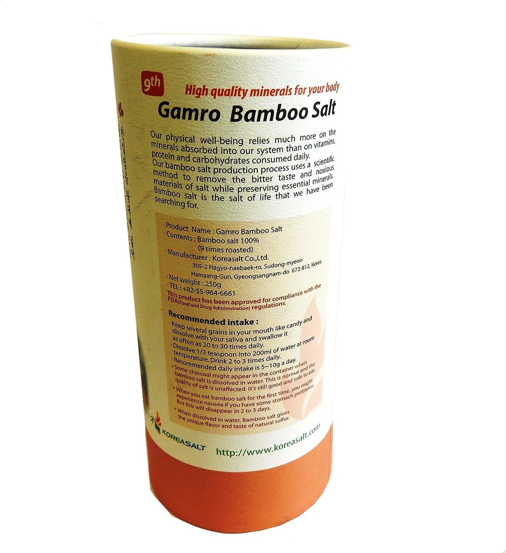 Amazon.com: Original Corea vidrio de sal de bambú 9-times ...