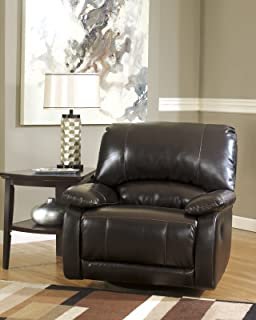 ashley furniture signature design capote swivel glider recliner manual reclining chair chocolate brown