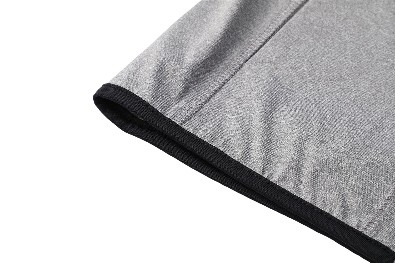 Dolcevida Women's Full Zip Long Sleeves Running Activewear Yoga Track Jackets (Grey, M) by Dolcevida (Image #9)