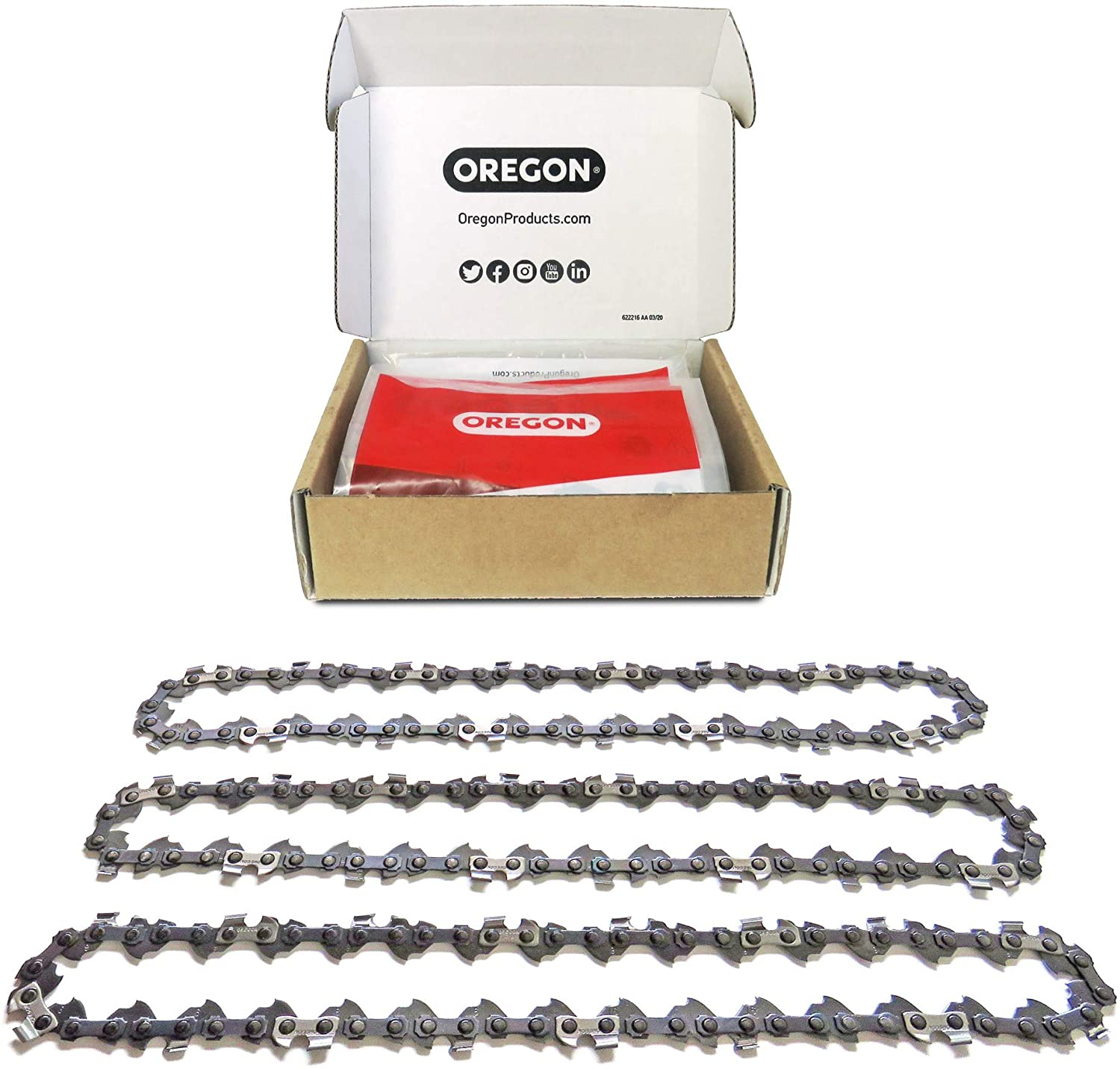Craftsman New Homelite Fits Echo Poulan and More 27856 14-Inch Guide Bar and AdvanceCut S52 Chainsaw Chain Combo