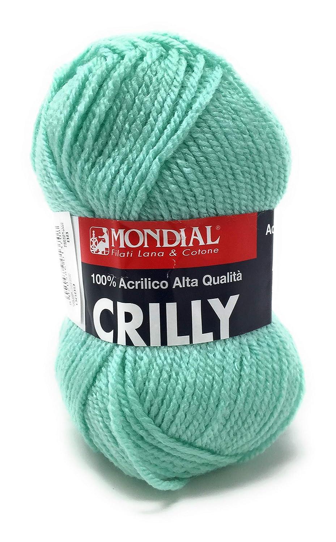 Crilly filato 100/% Acrilico giallo