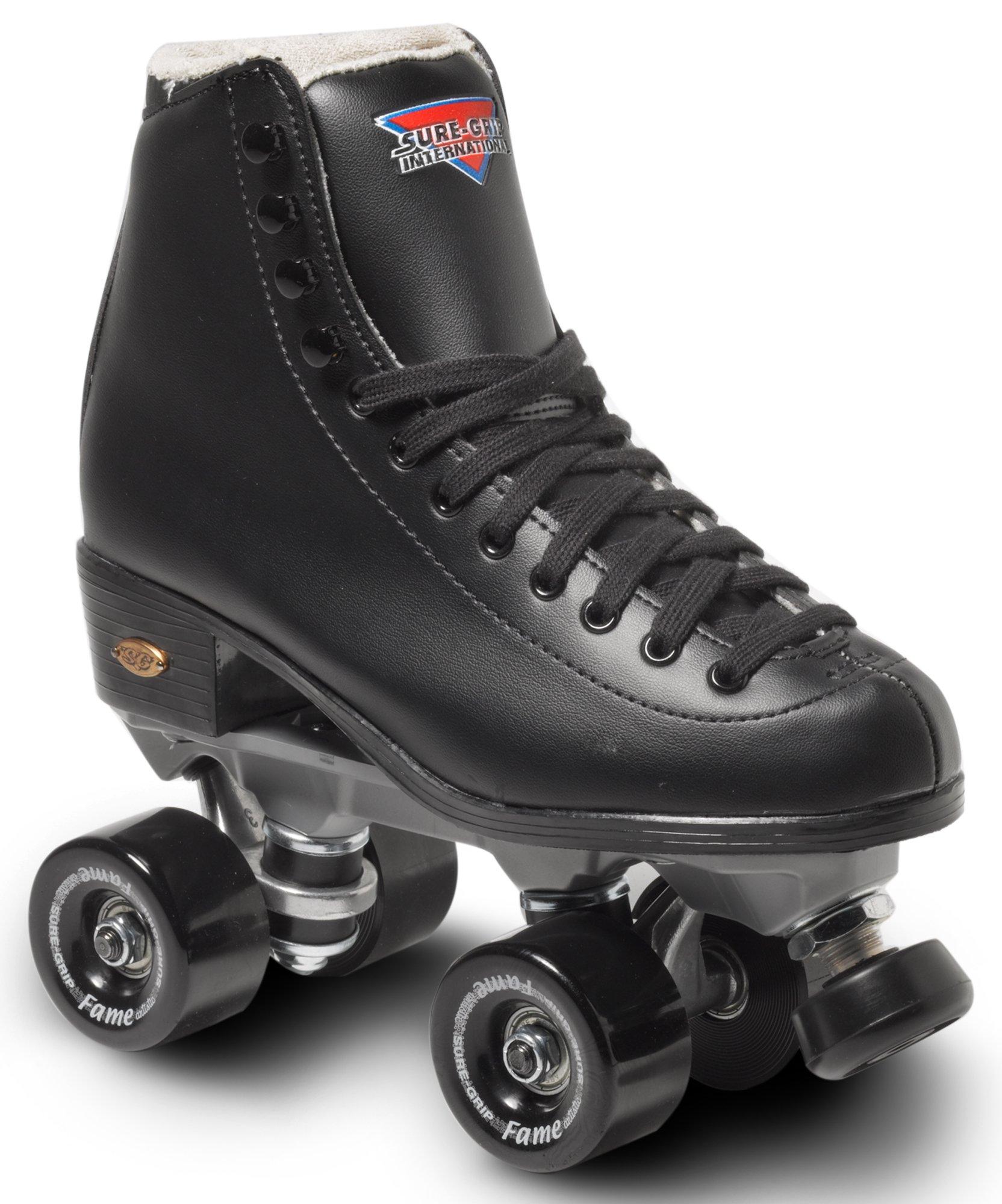 Sure-Grip Black Fame Roller Skate