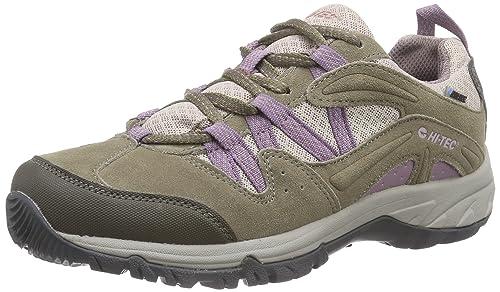 Hi-Tec Celcius WP W - Zapatillas de Trekking y Senderismo de Cuero Mujer