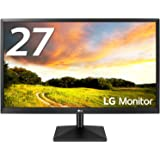LG モニター ディスプレイ 27MK400H-B 27インチ/フルHD/TN 非光沢/HDMI端子付/ブルーライト低減機能/FreeSync・DASモード搭載/応答速度2ms