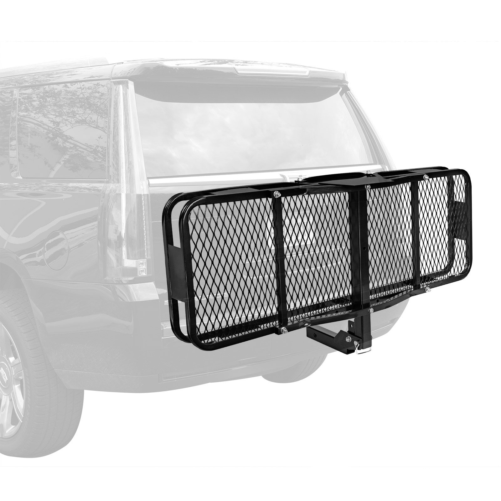 Direct Aftermarket Folding Hitch Cargo Carrier 60 inch Hauler 2 inch Receiver and Cargo Bag Combo by Direct Aftermarket (Image #3)