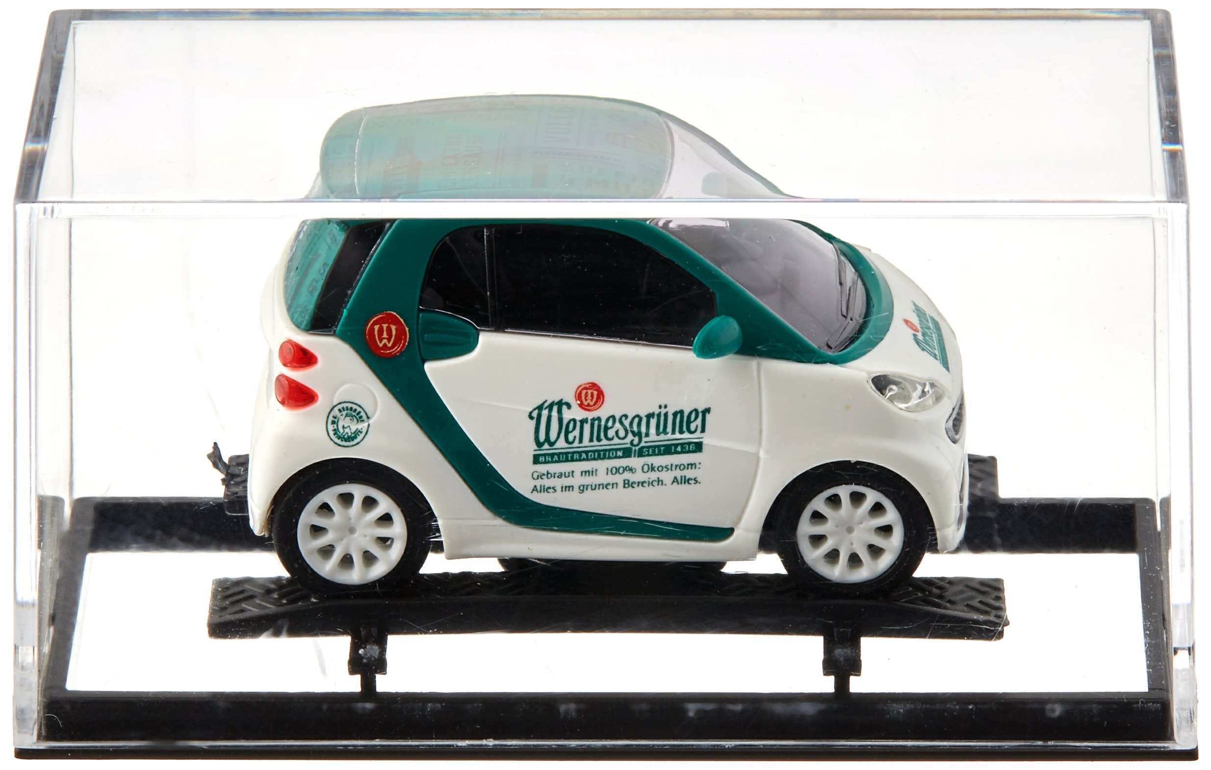 Busch 46218 Smart Fortwo Wernesgruner HO Scale Vehicle