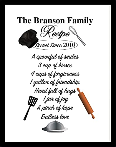 Amazon Com Family Recipe Kitchen Quote Wall Quotes Kitchen Wall