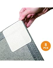 """Home Techpro Best Non-Slip Washable Gripper """"Vacuum TECH"""" -New Materials to Anti Curling Pad : Keep Your Rug in Place & Make Corner Flat and Easily Peel Off When Need"""