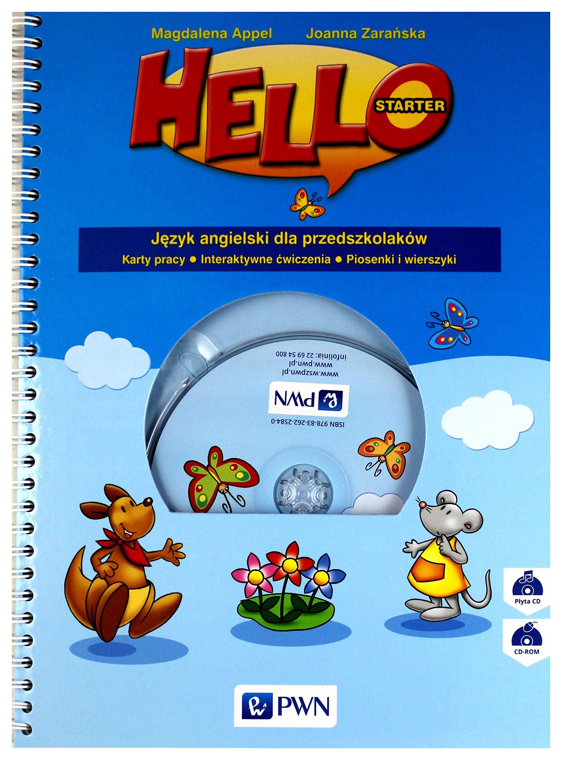Hello Starter Jezyk Angielski Dla Przedszkolakow Karty Pracy