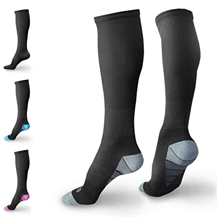 Underwear & Sleepwears High Quality Men Compression Socks Leg Support Stretch Compression Socks For Anti Fatigue Pain Relief Knee High Stockings Sufficient Supply