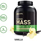 Optimum Nutrition Serious Mass, Vanilla 6Lbs 4/Cs