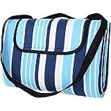"""SONGMICS Outdoor Waterproof Picnic Blanket Sand Proof Beach Blanket 77"""" X 59"""""""