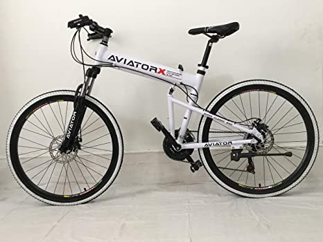 Aviator Bicicleta Plegable 26 Pulgadas, Frenos de Disco, Marco de ...