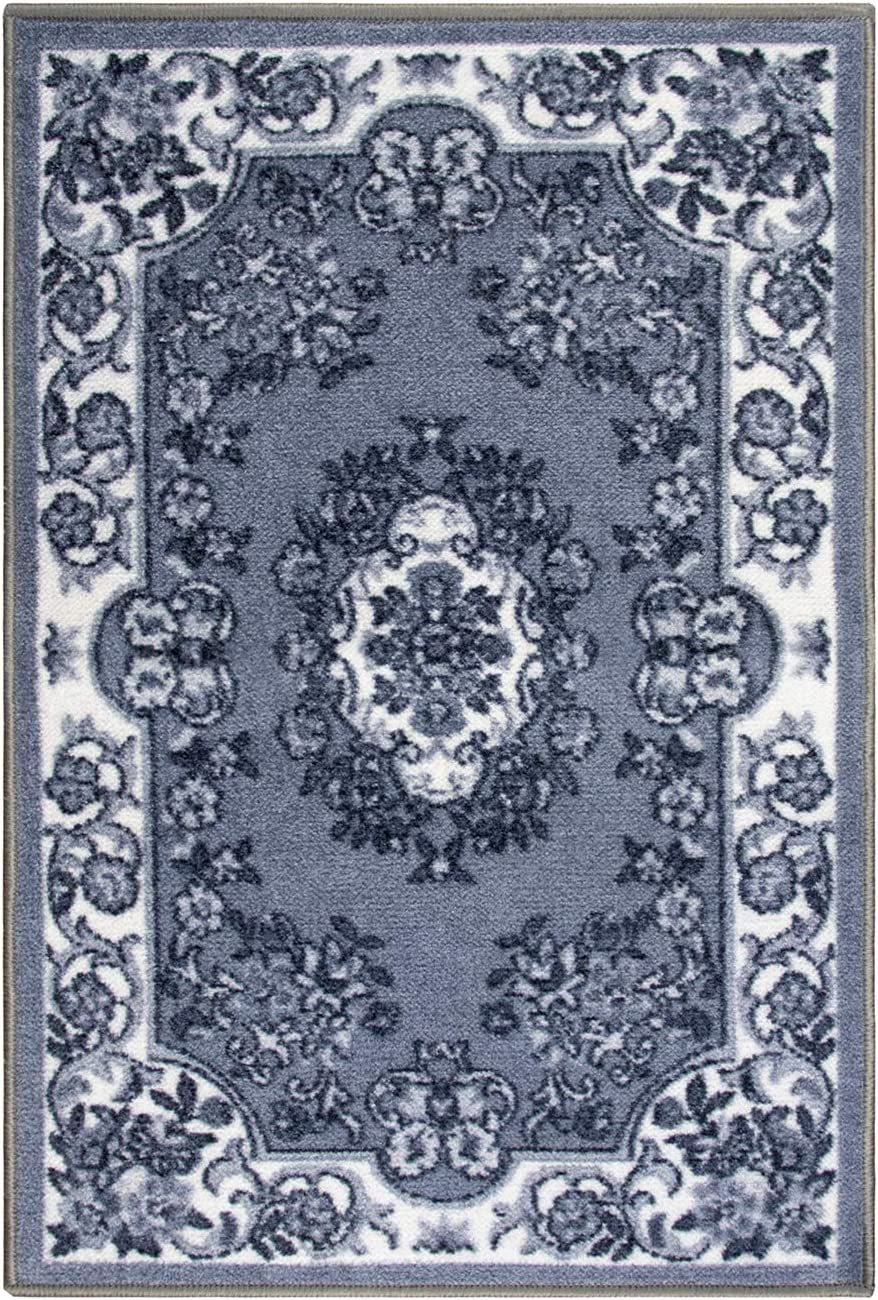 SUPERIOR Designer Digitally Printed, Low Maintenance, Affordable and Fashionable, Non-Slip Seraphina Area Rug, 2'x3'