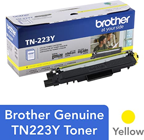 Amazon.com: Brother TN223Y - Cartucho de tóner para ...
