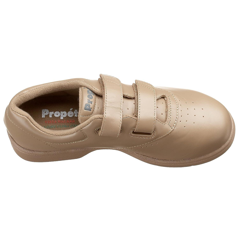 Propet Women's Vista Strap Sneaker B000BO9XA8 7.5 M (US Women's 7.5 B)|Taupe Smooth