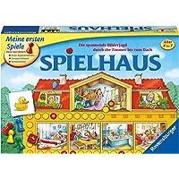 Ravensburger 21424 – Lekhus – Klassisk barnlek, spännande biljakt för 2-4 spelare från 4 år