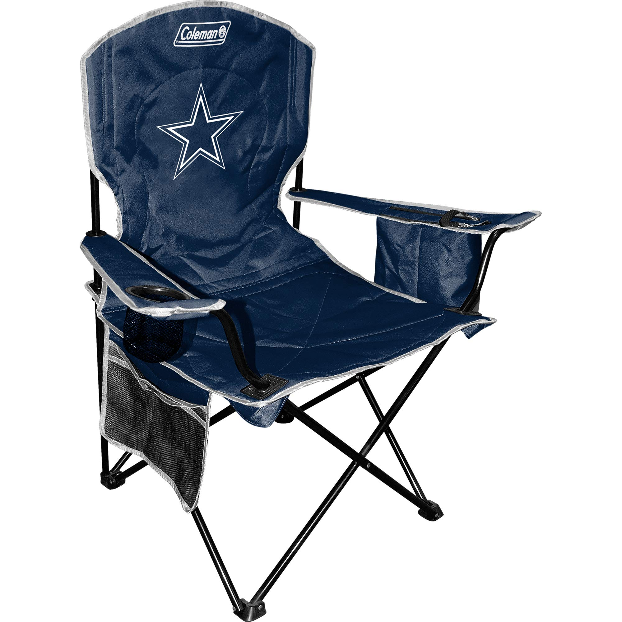 Dallas Cowboys Coleman Cooler Quad Chair - Navy by Coleman