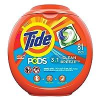 Amazon.com deals on 96 Count Tide PODS Laundry Detergent Liquid Pacs