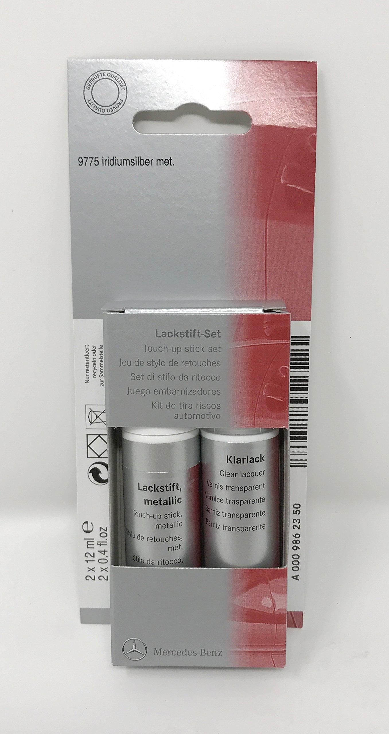 Mercedes Benz Genuine Iridium Silver Touch Up Paint Code 775