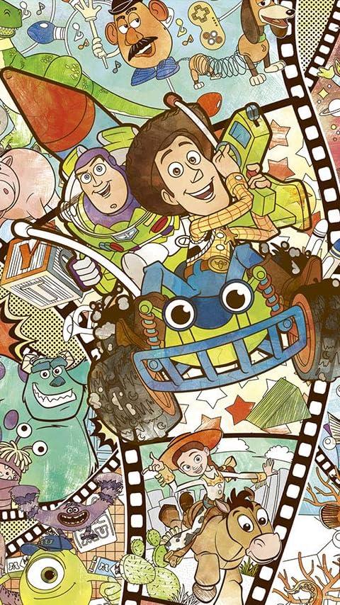 ディズニー ピクサー・キャラクターズ XFVGA(480×854)壁紙画像