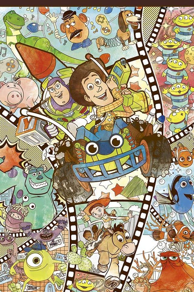 ディズニー ピクサー・キャラクターズ iPhone(640×960)壁紙画像