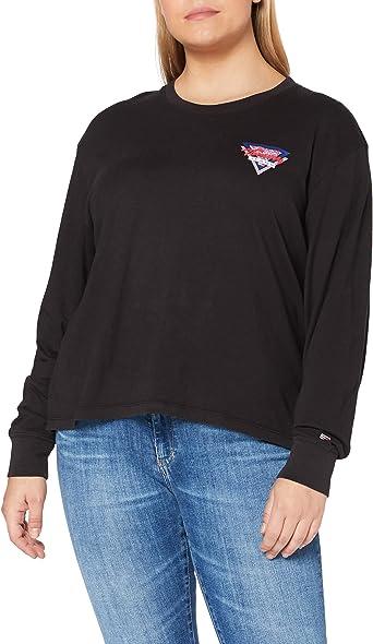 Tommy Hilfiger Tjw Triangle Back Longsleeve Camisa para Mujer ...