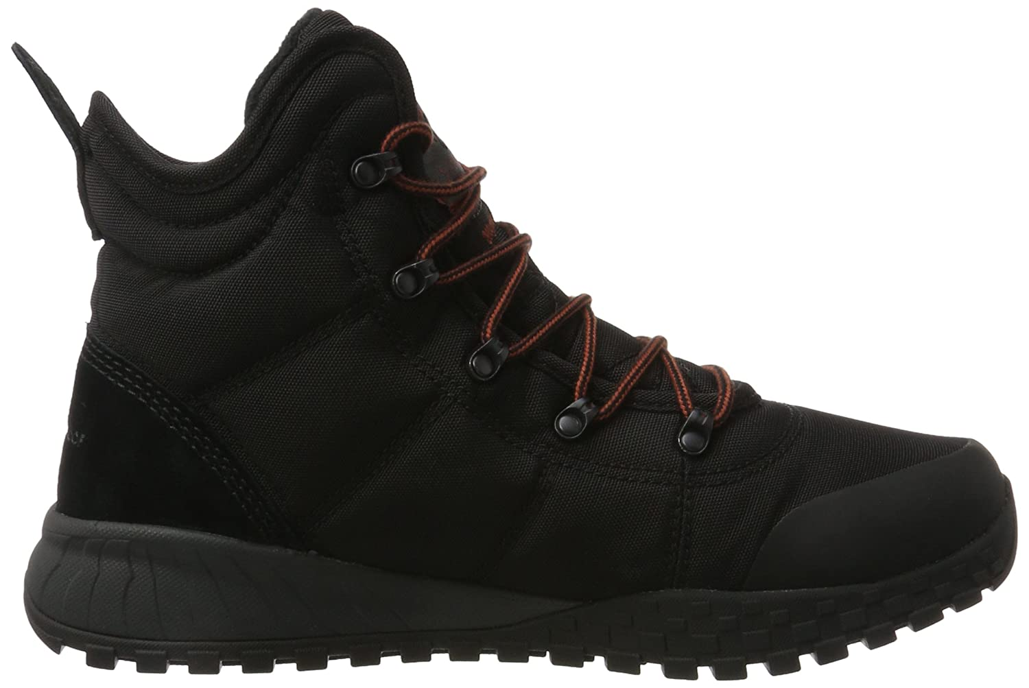 Columbia Black/Rusty Herren Fairbanks Omni-Heat Schneestiefel, Black/Rusty Columbia Schwarz (Black/ Rusty) 4c14c3