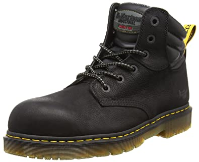 Amazon.com  Dr. Martens Unisex Hynine Steel Toe 6 Tie Leather ... e7736f376
